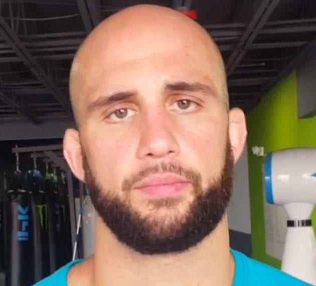 Volkan Oezdemir plans to give Anthony Smith a reality check