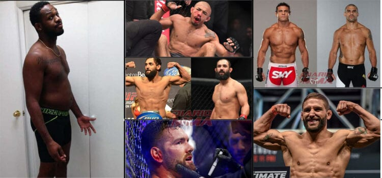 Fighters who were never the same after USADA joined the UFC